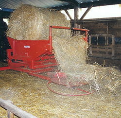 Disc Straw Spreading