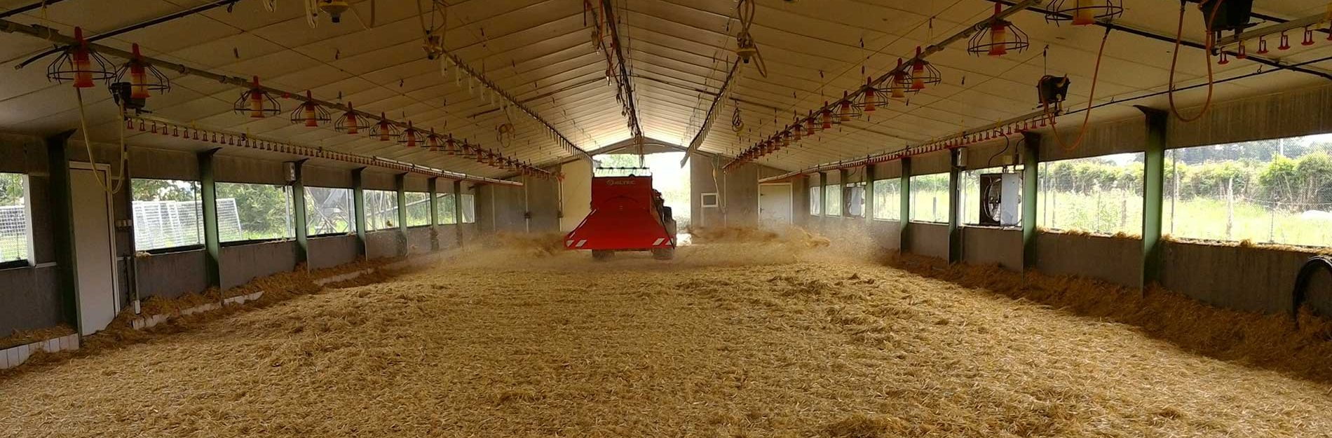 Poultry Straw and Sawdust spreaders